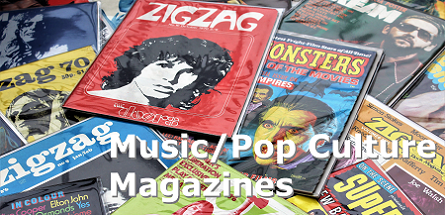 Music/Pop Culture Magazines